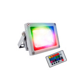 Reflector Luminaria Led Rgb Multicolor 10w Con Control
