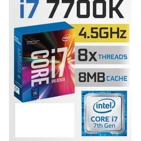 Procesador I7 7700k 8m Cache, Up To 4.50 Ghz Lga 1151