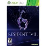 Resident Evil 6 Fisico Nuevo Sellado Xbox 360