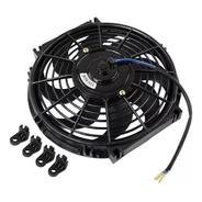 Eletro Ventilador  Ar Condicionado Universal 10 Polegada 12v