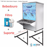 Purificador De Água Industrial 20 Litros + Filtro + Suporte