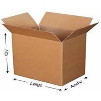 90 Cajas De Carton Corrugado Para Empaque 27x16x26cms Mp29