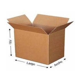 160 Cajas De Carton Corrugado Mp85 Para Empaque 16x12x12cms