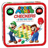 Juego De Mesa Mario Damas Inglesas Tic Tac Toe Nintendo