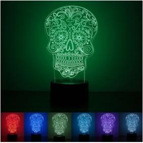 Lámpara De Noche Luz Nocturna Diseño 3d Luz Led Envio Gratis