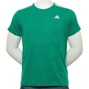 Remera Essential 3s Verde adidas Sport 78 Tienda Oficial