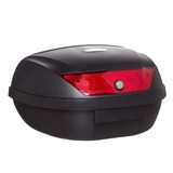 Baul Moto Mac 51lts Reflectivo Rojo