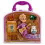 Disney Store Set Animators Mini Rapunzel Blanca Nieves 2015