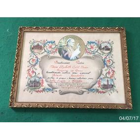 * Diploma - Benção Apostólica Do Papa João Vi *