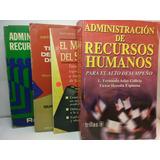 Lote De Libros Administracion De Recursos Humanos