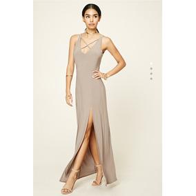 Vestido Mujer Noche Forever 21 Art 267