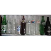Lote Com 10 Garrafas 1lt Coca-cola Pepsi Sielva Fanta - L38