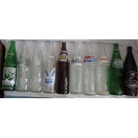 Lote Com 10 Garrafas 1lt Coca-cola Pepsi Sielva Fanta -