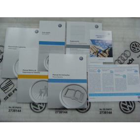 Kit Completo Manual Proprietário Saveiro G6 Vw Novo Lacrado