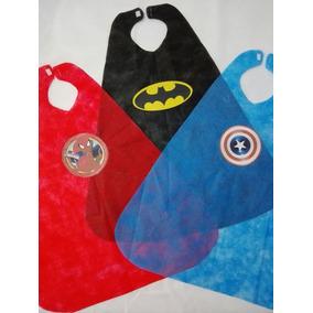 Capas Superheroes Nenes Y Nenas Souvenir Para Fiestas X 15