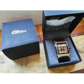 Reloj Elini Barokas Commander 47mm Sillicon Oro Rosa Suizo