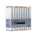 Copic Sketch Set De 36 Colores Marcadores De Arte | 12 Msi