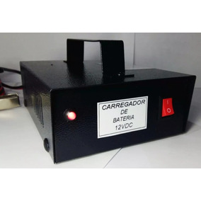 Carregador De Bateria 12 Vdc 5 Amp Carro Moto - Eletrônico