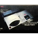 Consola Pc Engine Cd - Rom 2 System