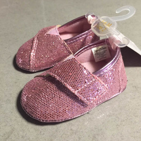 Zapatos Bebe Niña Brillosos Excelente Calidad Broche De Lado