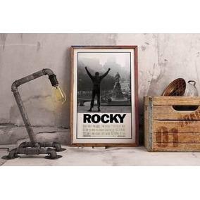 Cuadro Poster Exclusivo Rocky Diseño Original 60 X 90 Cm