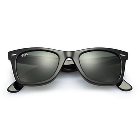 Ray Ban Wayfarer 2140 Negro Brillo/ Originales Italianos.