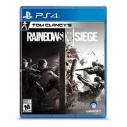 Tom Clancy's Rainbow Six Siege Ps4 Formato Fisico Original