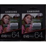 Micro Sd Com Adapter 64gb Samsung 4k