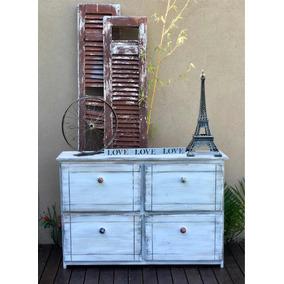 Botinero Zapatero Mesa Apoyo Vintage Muebles Reciclados