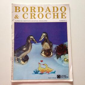 Revista Bordado & Crochê Panos De Copa Xadrez N°05
