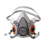 Respirador Semifacial 6000 P/ Pintura Auto Pronto Uso - 3m