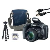 Câmera Canon Sx530 Hs C/ Estojo, Tripé E Cabo Usb- Sem Frete