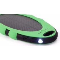 Cargador Solar Portatil 5000 Mah Contra Agua, Golpes, Polvo