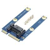 Mini Pci-e Ssd Msata Sata 7 Adaptador Extension Mpcie Pin