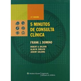 Libro 5 Minutos De Consulta Clínica - Nuevo