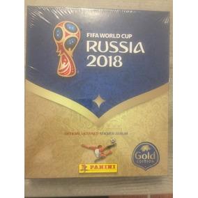 Album Gold Copa World Cup 2018 Box Capa Dura Limite Panini