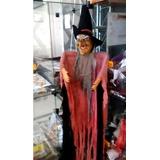 Bruxa Pendurar Risada Terror Medo Susto Halloween Boneco
