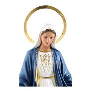 Imagem Escultura Nossa Senhora Das Graças 34cm