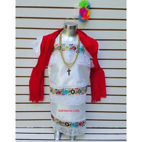 Vestido Yucateca Traje Vestuario Tipico Regional Yucatan