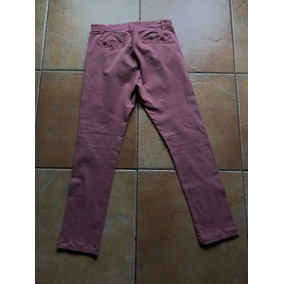 Pantalon Rosa Viejo Tascani Talle 44