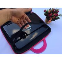 Promoção Capa P/ Notebook 15,6 Cor De Rosa + Mouse Sem Fio