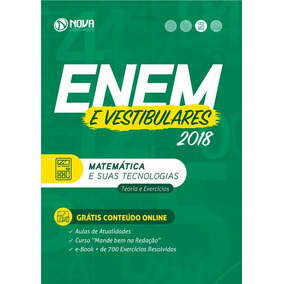 Apostila Enem 2018 4 Volumes. Com Curso Online