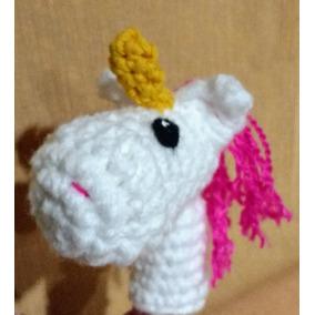 Títere De Dedo Tejido Al Crochet Souvenirs Regalos Niños