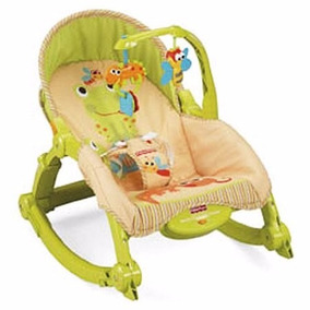 Silla Y Mecedora Vibradora Bouncer 2 En 1 Fisher Price W