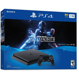 Ps4 Slim 1tb Consola Playstation 4-juego Starwars
