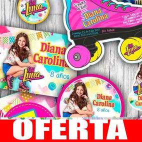 Kit Imprimible Soy Luna Fiesta Invitaciones Etiquetas
