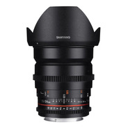 Samyang 24mm T1.5 Ed As If Umc Ii Cine Lens Cinema P/ Nikon
