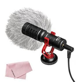 Boya By-mm1 Microfono De Shotgun Universal Cardiod Para Iph
