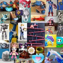 Papercraft 3d + Tutoriales Creación, Escalado, Diseño Y Más