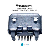 Pin Puerto De Carga Blackberry 8520 9300 Original